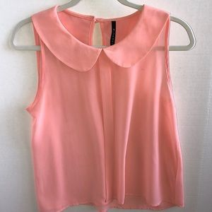 Pink Colored Blouse